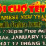 Jan 12: Vietnamese New Year Festival